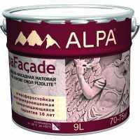 Альпафасад Фасадная краска на основе смол Pliolite® база С (прозрачная) 8.16 л