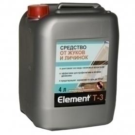 Элемент Т-3 средство от жуков и личинок 4л