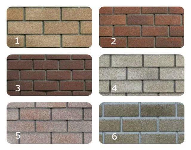 Фасадная плитка HAUBERK, Терракотовый кирпич (2 м2/упак )(80м2) м2