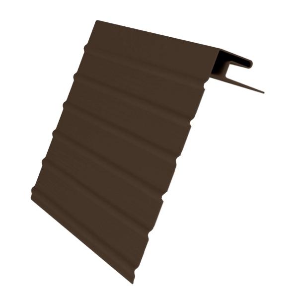 Фаска J 3.0м GL коричневая(ветровая доска) (24шт)
