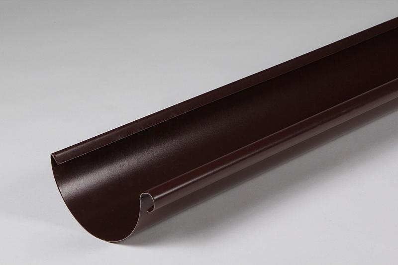 Желоб водосточный D125х3000 МП-Престиж