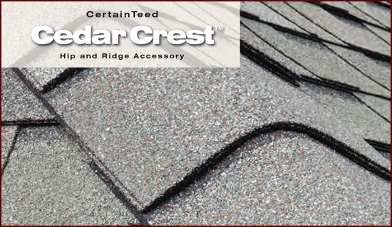 Коньковый элемент Cedar Crest для  Presidential, Presidential TL, Highland Slate
