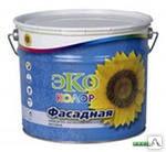 Краска ЭКО Akrimax фасадная, супербелая 14кг (52)