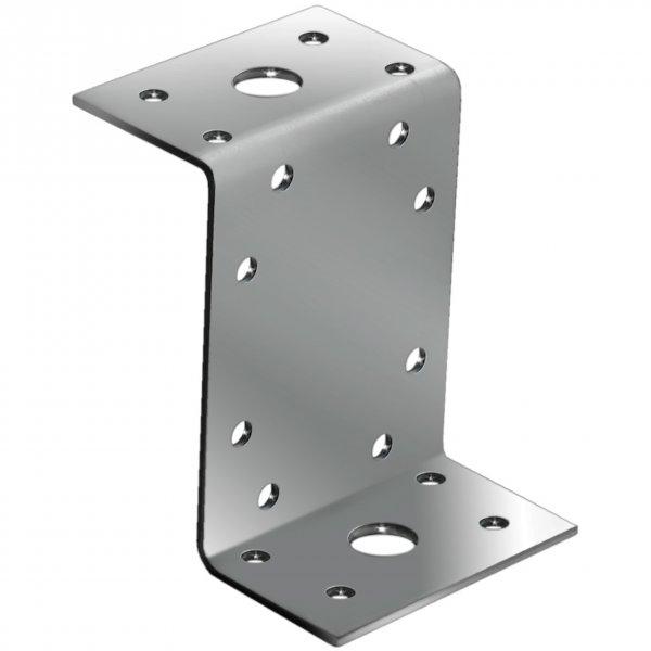 Крепежный уголок Z-образный 45х90х65