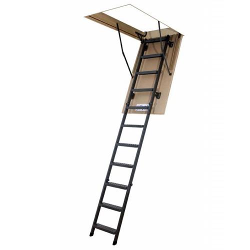 Лестница складная металическая LMS 60x120x280