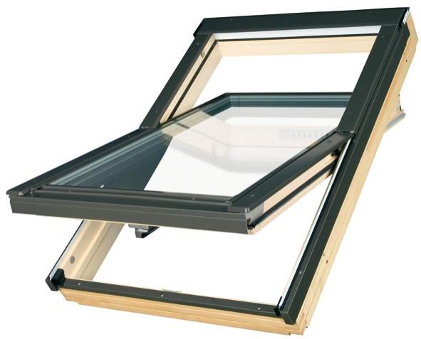Мансардное окно FTP-V U3 Fakro Elektro 78х118