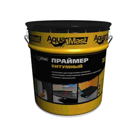 Мастика битумно-резиновая AquaMast (10кг)