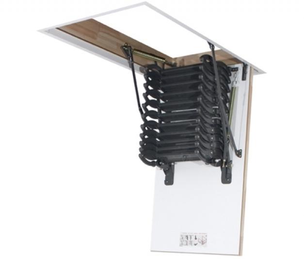 Металлическая термоизоляционная лестница LST 70х120х280