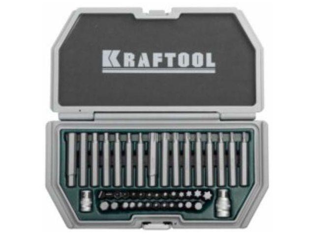 Набор бит усиленных KRAFTOOL Cr-V сталь 44 предмета