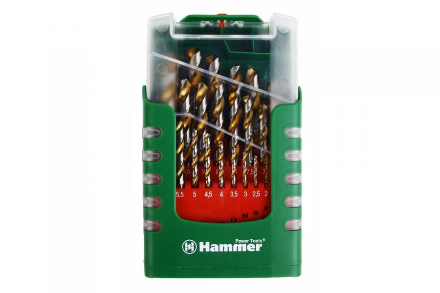 Сверло по металлу 6 мм HSS нитридтитановое покрытие цилиндрический хвостовик Matrix 717600