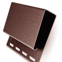 Профиль J 3.10м широкий (Наличник) GL  коричневый (20)