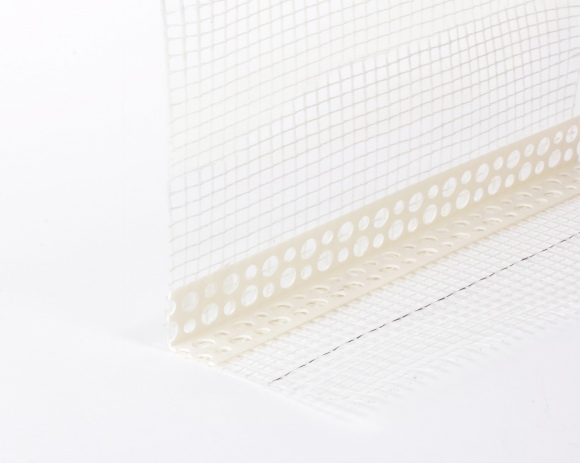 Профиль  ПВХ с армирующей сеткой, капельник 2м