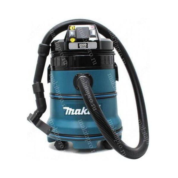 Пылесос MAKITA 440  1000Вт 55л/сек ёмкость 30л шум 65Дб + шланги, наконечники, фильтры