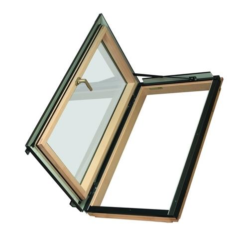 Распашное термо окно FWL U3 Fakro 78х118