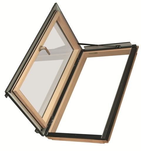 Распашное термо окно FWL U3 Fakro 94х118