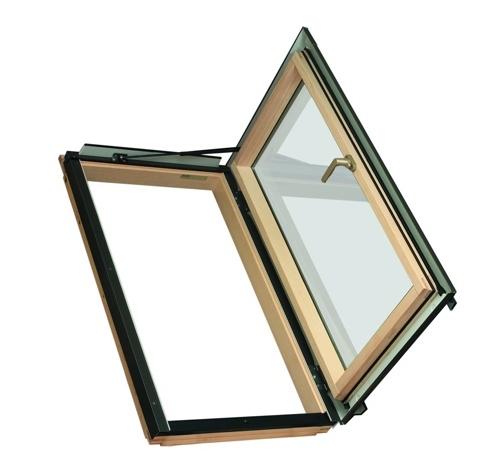 Распашное термо окно FWR U3 Fakro 78х118