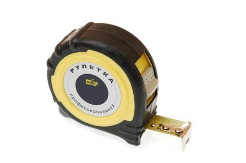 Рулетка 888 Резино-пласт. корпус, двойная фиксация 10 м - 25мм