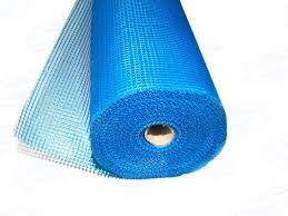 Сетка фасадная Х-Glass 5мм х 5мм 160г/кв.м (1мх50м) синяя