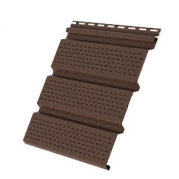 Соффит Т4 полностью перфорированный коричневый 3.0х0.305м GL (22шт)