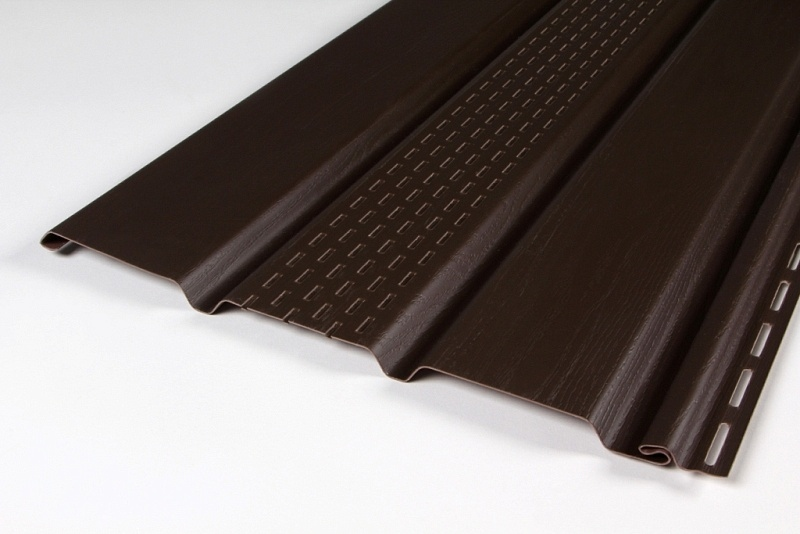 Соффит Т4 с частичной перфорацией коричневый 3,0х0,305 GL (22шт)