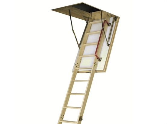 Термоизоляционная складная чердачная лестница LТК 70х140х280