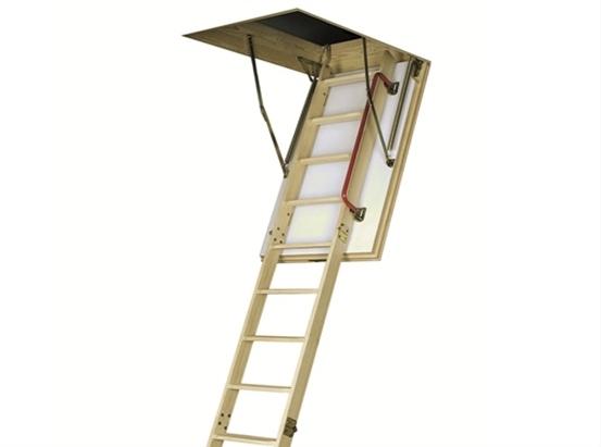 Термоизоляционная складная чердачная лестница LTK 70x120x280