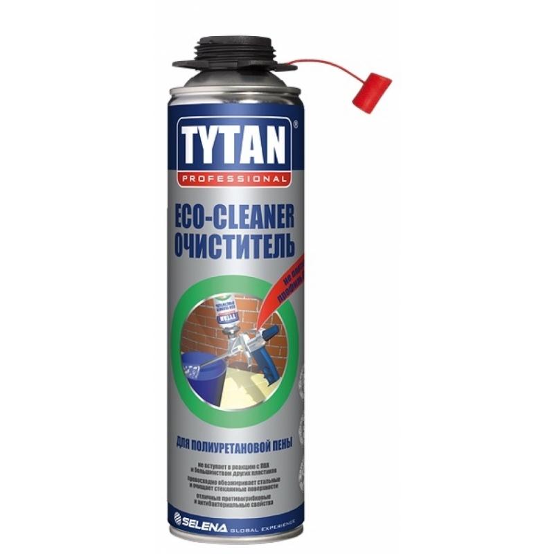 Tytan Professional ЕСО очиститель для полиуретановой пены 500 мл (12)