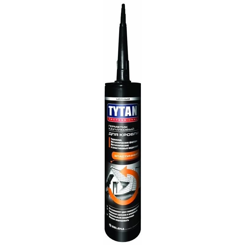 Tytan Professional Герметик Каучуковый для Кровли, Бесцветный 310 мл (12)