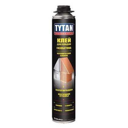 Tytan Professional клей для кладки газобетона и керамических блоков светло-серый