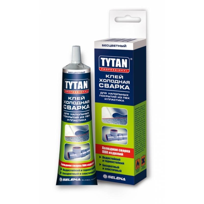 Tytan Professional клей холодная сварка для напольных покрытий из ПВХ и пластика 1/18шт