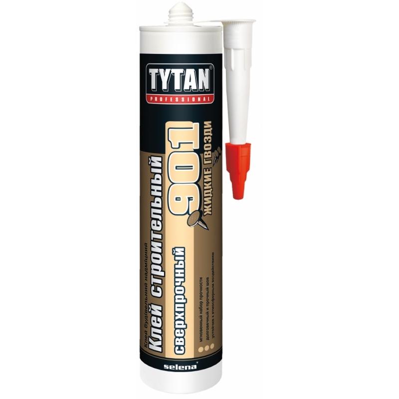 Tytan Professional клей строительный сверхпрочный №901 бежевый 380гр (12)