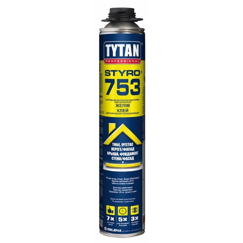 Tytan Professional Styro 753 клей для наружной теплоизоляции 1/14кв.м (12)