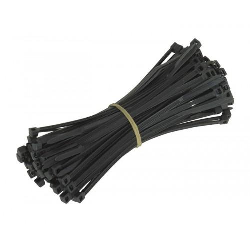Стяжка кабельная черная Fisher (4,6х200мм) UNB