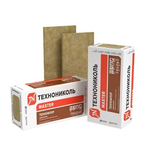 Утеплитель Технофлор Стандарт 1200х600х50 мм  (4,32 кв.м., 0,216 куб.м. (6 плит) (32уп/под)