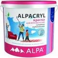 Альпакрил   Акриловая супербелая матовая для стен и потолков 2л