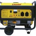 Бензоэлектростанция HAMMER GNR5000 А ЭЛЕКТРОСТАРТ 5.5кВА 220В 50Гц бак 25л непр.9ч