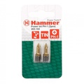 Бита HAMMER 203-102 PB PH-1 25mm (2pcs)  TIN, 2шт.