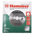 Диск пильный HAMMER 205-118 CSB WD 235*48*30/20  по дереву