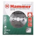 Диск пильный 235х48х30/20 HAMMER 205-118 CSB WD по дереву