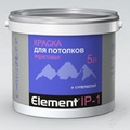 Элемент IР-1 5л Краска акриловая для  и потолков  (72)