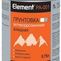 Элемент РА-001 Грунтовка алкидная Антикоррозийнная  2л (красно-коричневая) (168)