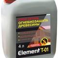 Элемент Т-01 Огнебиозащита древесины с индикатором STOP Огонь 4л