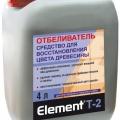 Элемент Т-2 отбеливатель для дерева 4л