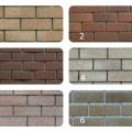 Фасадная плитка HAUBERK, Серо-бежевый кирпич (бежевый кирпич)(2 м2/упак )(80м2) м2