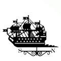 Флюгер большой 024 Ветер Петербурга