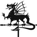 Флюгер средний Дракон