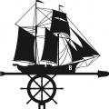Флюгер средний Корабль