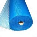 Сетка фасадная Х-Glass 5мм х 5мм 160г/кв.м (1мх20м) синяя