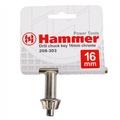 Ключ для патрона HAMMER 208-303 CH-key 16MM