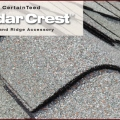 Коньковый элемент CertainTeed Cedar Crest для Presidental Shake,Highland,Slate,Belmont(6,096 п.м/уп)